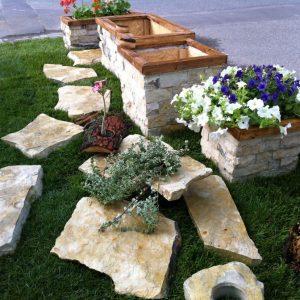 piatra ornamentala gradina
